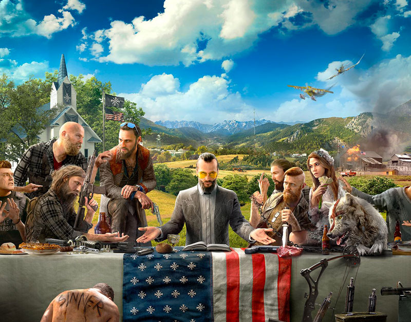 Far Cry 5 - Gold Edition (Xbox One), Games Elements, gameselements.com