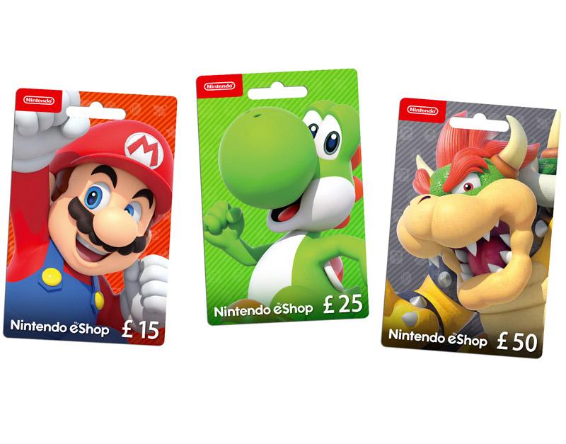 Nintendo eShop Gift Card, Games Elements, gameselements.com