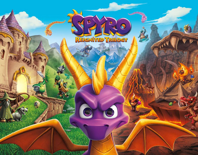 Spyro Reignited Trilogy (Xbox One), Games Elements, gameselements.com